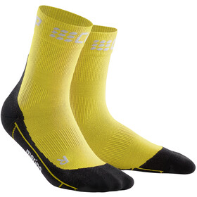 cep Winter Short Socks Men yellow/black